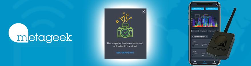 Netwerk snapshots in Air Viewer App